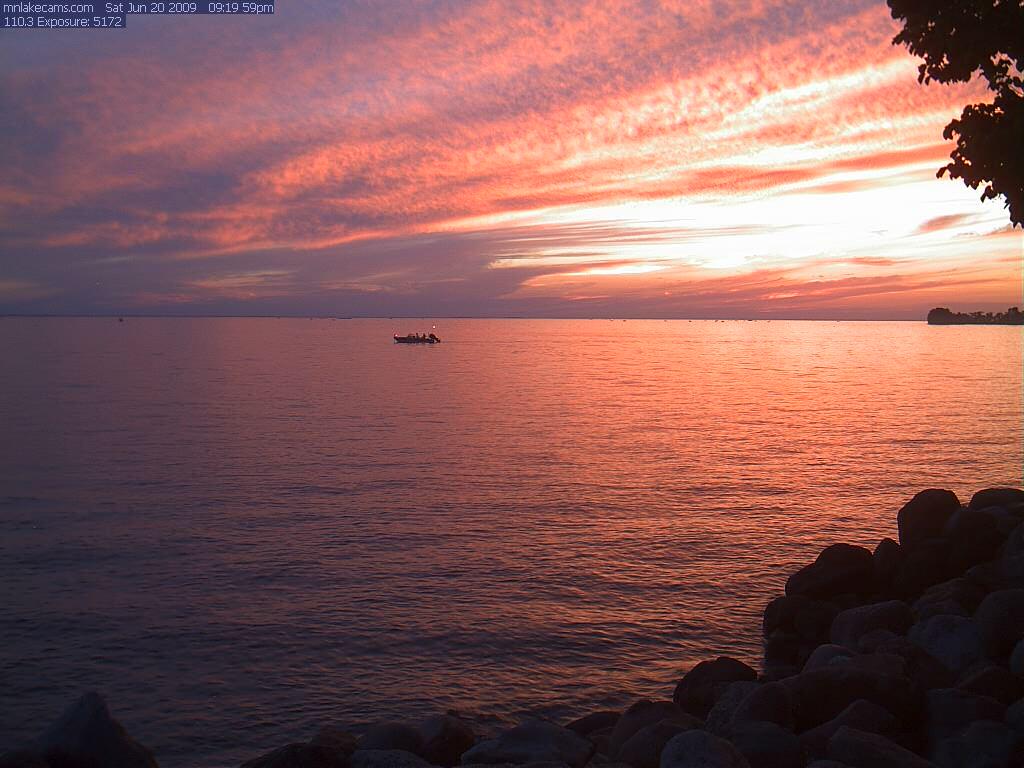 Mille lacs lake webcam home autos weblog for Lybacks ice fishing