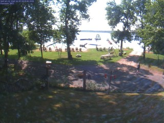 Live images from Pimushe Resort Pimushe Lake near Bemidji, MN