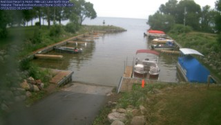 Live images from Red Door Resort Mille Lacs Lake, MN
