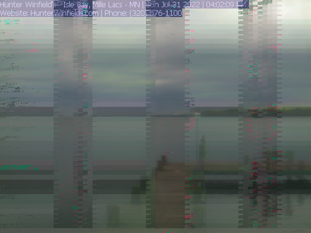 Mille Lacs Hunter Winfield Webcam Image